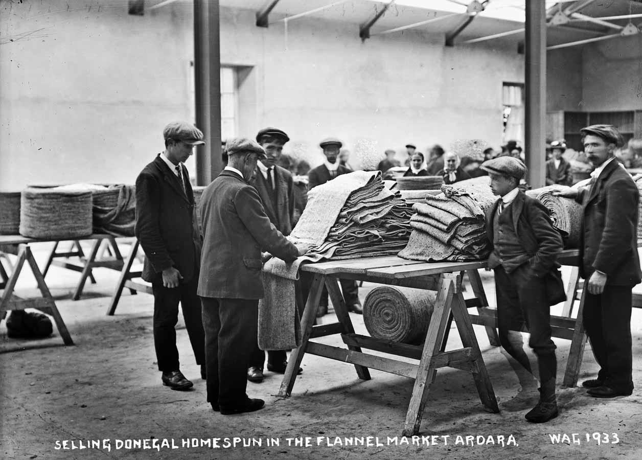 Traditional Irish Wool Production