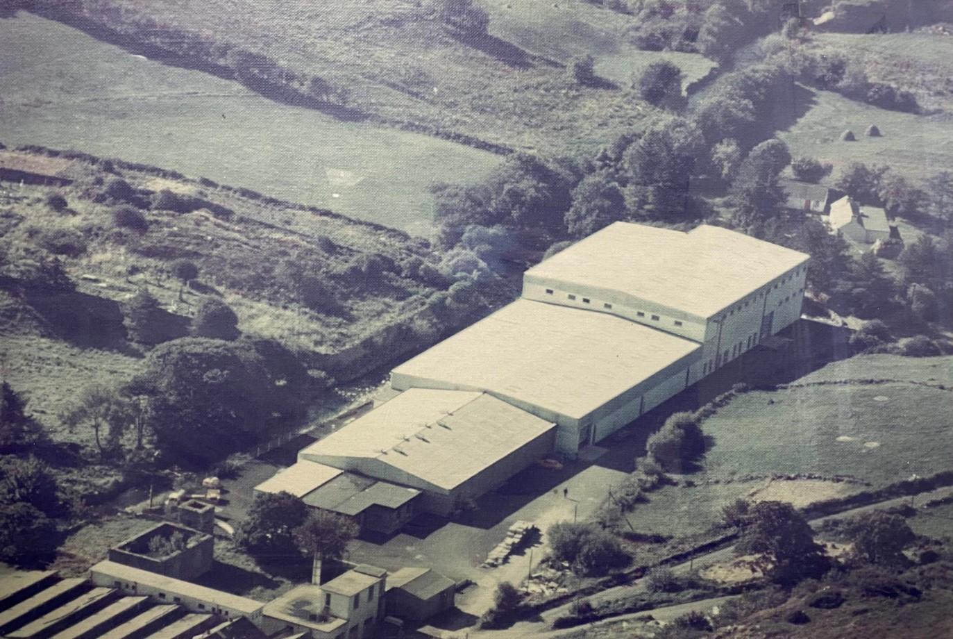 Donegal Yarns mill in Kilcar, built in 1970s