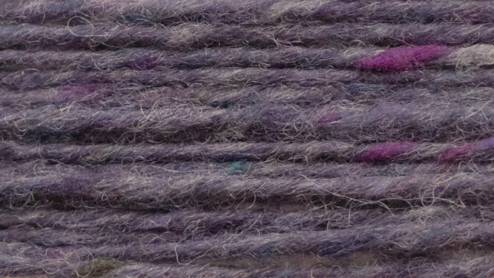 Malvina tweed for knitting and weaving