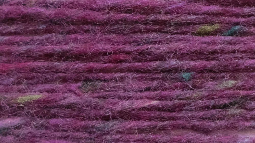 Riona tweed for knitting and weaving