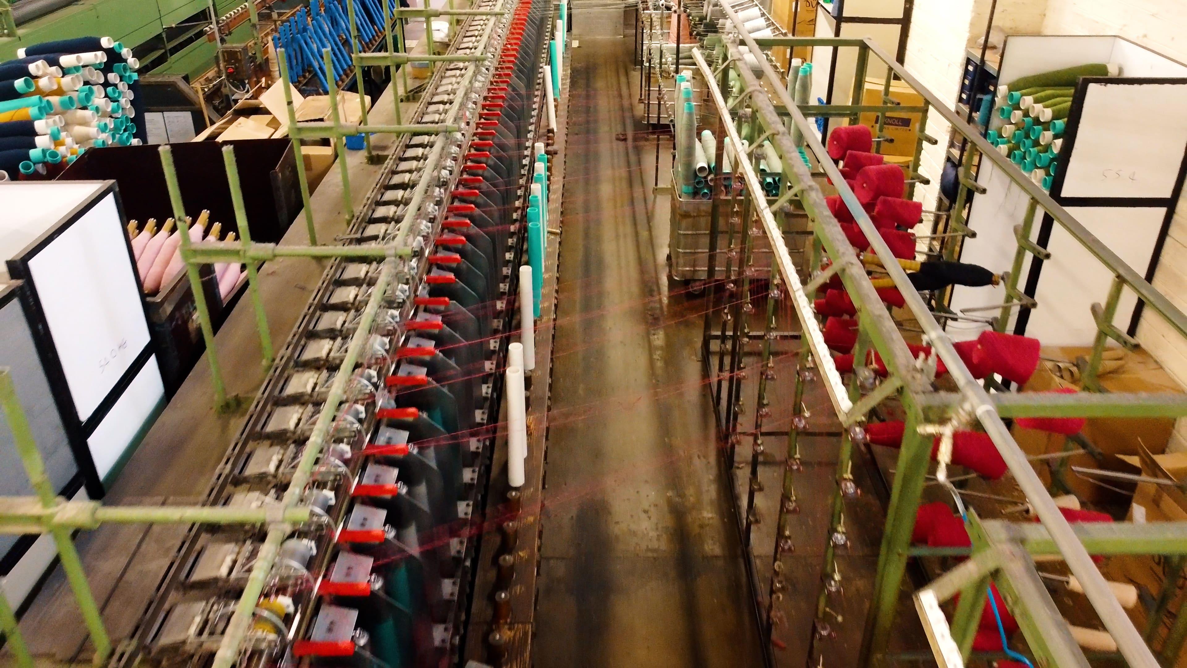 Irish wool mill