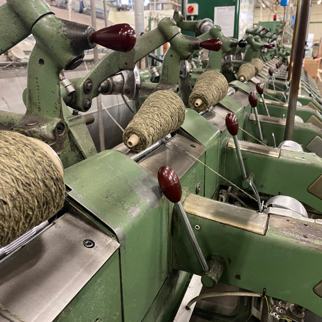 Yarn production Donegal.