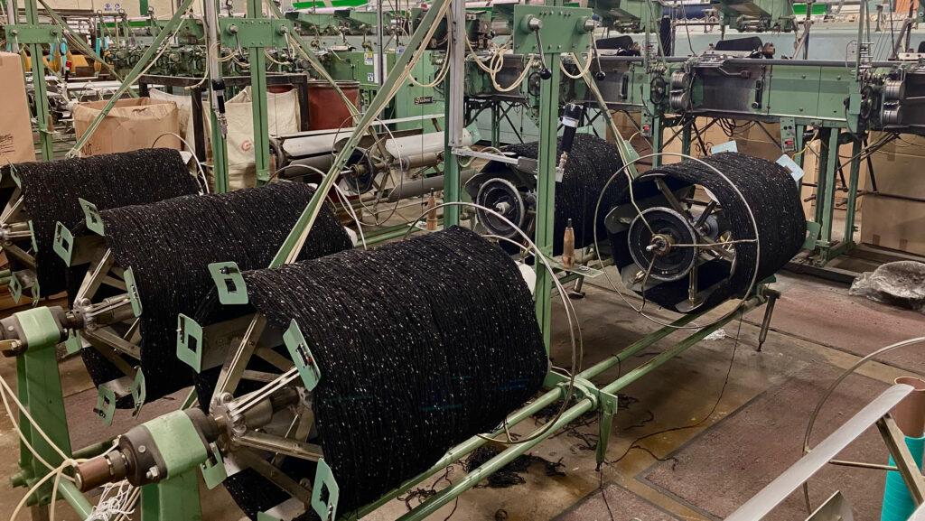 Wool mills Ireland.